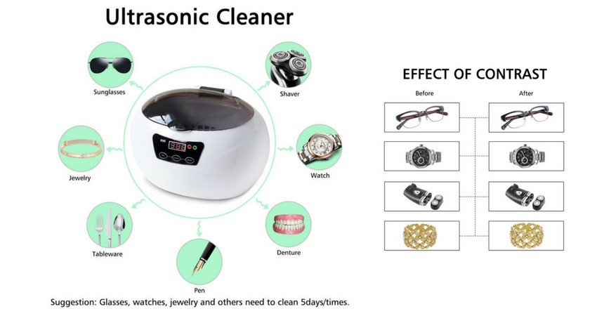 Charminer Professional Ultrasonic Jewelry Cleaner