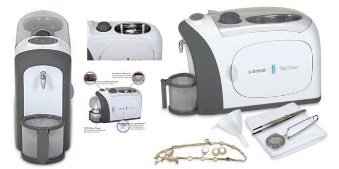 Trioshine Ultrasonic Steam and UV Jewelry Cleaner