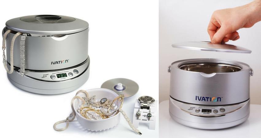 Ivation IVU96W Digital Ultrasonic Cleaner