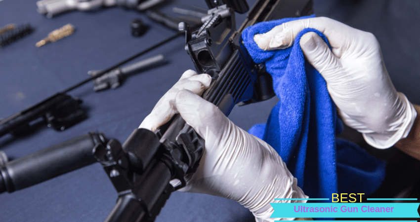Ultrasonic Gun Parts Cleaner